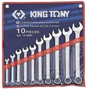 Набор комбинированных ключей, 8-24 мм, 10 предметов KING TONY 1210MR