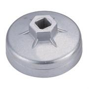 Съемник масляных фильтров, 74 мм, 8 граней, торцевой МАСТАК 103-44144