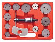 Приспособление для утапливания поршня тормозного цилиндра, кейс, 13 предметов МАСТАК 102-00011C