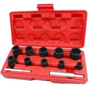 Набор торцевых головок для поврежденных гаек и болтов, 8-21 мм, кейс, кейс, 12 предметов  МАСТАК 109-30012C