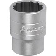 """Головка торцевая стандартная двенадцатигранная 1/2"""", 32 мм МАСТАК 000-42032"""