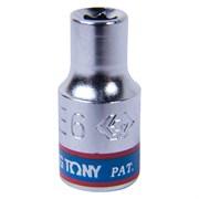 "Головка торцевая TORX Е-стандарт 1/4"", E6, L = 24 мм KING TONY 237506M"