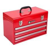 Ящик инструментальный, 3 полки, красный МАСТАК 511-03380R