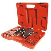 Ключ колпака ступицы универсальный, 49-143 мм, кейс, 13 предметов МАСТАК 100-42013C