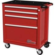 Тележка инструментальная, 4 ящика, красная FERRUM 02.104R-3000