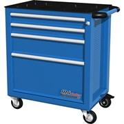Тележка инструментальная, 4 ящика, синяя FERRUM 02.104R-5015
