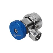 Муфта быстросъемная с вентилем, низкого давления, фреон R134a МАСТАК 105-40013