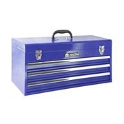 Ящик инструментальный, 3 полки, синий МАСТАК 511-03530B