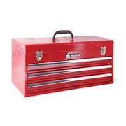 Ящик инструментальный, 3 полки, красный МАСТАК 511-03530R