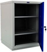 Тумба верстачная с дверцей, синяя FERRUM 01.410-5015