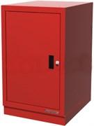 Тумба верстачная с дверцей, красная FERRUM 01.410-3000