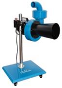 Мобильная установка для вытяжки отработанных газов, вентилятор 900 м3/ч, 220В, под шланг 75мм