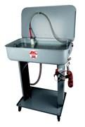 Ванна для мойки и промывки деталей (емкость ванны 60 л, (продувочный пистолет со шлангом и кисточкой с подачей моющей жидкости). Pneumatic