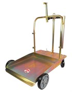 Тележка для бочек 180/220 л с возможностью установки катушки