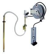 Настенный набор для раздачи масла для бочек 180/220 л (насос 3:1, катушка со шлангом 15 м)