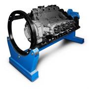 Стенд универсальный для ремонта ДВС, КПП, мостов и др. агрегатов весом до 3000 кг. Привод - электромеханический.