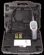 Электронный детектор утечек для фреонов типа CFC, HFC, HCFC, HFO1234yf. Поставляется в кейсе. Чувствительность 2.