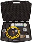 Комплект для поиска утечек с помощью азота в кейсе.