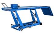 Подъемник ножничный гидравлический для мототехники, ножной привод, г/п 450 кг.