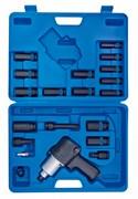 """Гайковерт пневматический ударный 1/2"""", 678 Нм, с комплектом головок, 23 предмета KING TONY 44118MP08"""