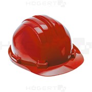 HOEGERT Защитная каска, красная