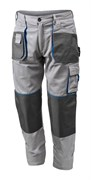 HOEGERT Рабочие брюки серые, размер L