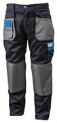 HOEGERT Рабочие брюки темно-синие, размер L