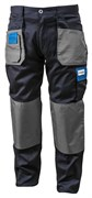 HOEGERT Рабочие брюки темно-синие, размер 4XL