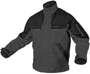 HOEGERT Куртка рабочая, серый, размер XXL