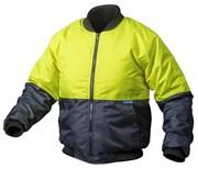 HOEGERT Утепленная куртка, размер 2XL (желтая)