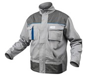 HOEGERT Куртка рабочая серая, размер 4XL