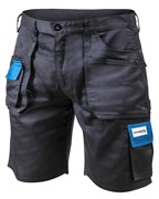 HOEGERT Шорты рабочие темно-синие, размер XL