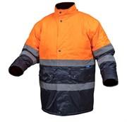 HOEGERT Куртка утепленная, светоотражающая, размер 3XL (оранжевая)