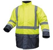 HOEGERT Куртка утепленная, светоотражающая, размер XL (желтая)