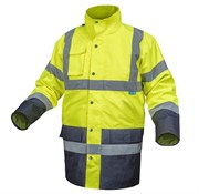 HOEGERT  Куртка утепленная, светоотражающая  3 в 1, размер L  (желтая)