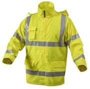 HOEGERT Куртка-дождевик светоотражающая, размер L (желтая)