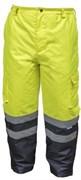 HOEGERT Штаны утепленные, светоотражающие, размер 2XL (желтые)