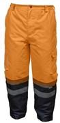 HOEGERT Штаны утепленные, светоотражающие, размер XL  (оранживые)