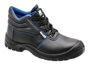 HOEGERT Ботинки рабочие кожаные, металл, размер 39