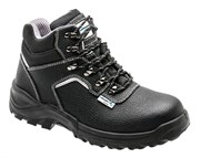 HOEGERT Ботинки рабочие кожаные, металл, защита от прокола, размер 39