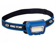 KING TONY Фонарь светодиодный, налобный, 1 Led COB, 3,7 В