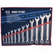 KING TONY Набор комбинированных ключей, 6-32 мм, 12 предметов