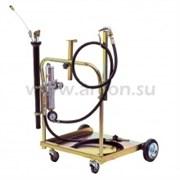 Установка для откачки и раздачи масла, плунжерный насос, тележка для бочек 180-220, ALFA (Италия)