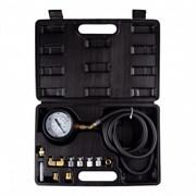 AFFIX Манометр для измерения давления масла, 0-21 бар, комплект адаптеров