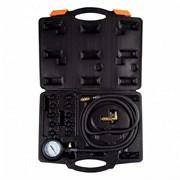 AFFIX Манометр для измерения давления масла, 0-10 бар, комплект адаптеров